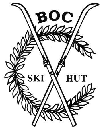 Brattleboro Outing Club Ski Hut Logo