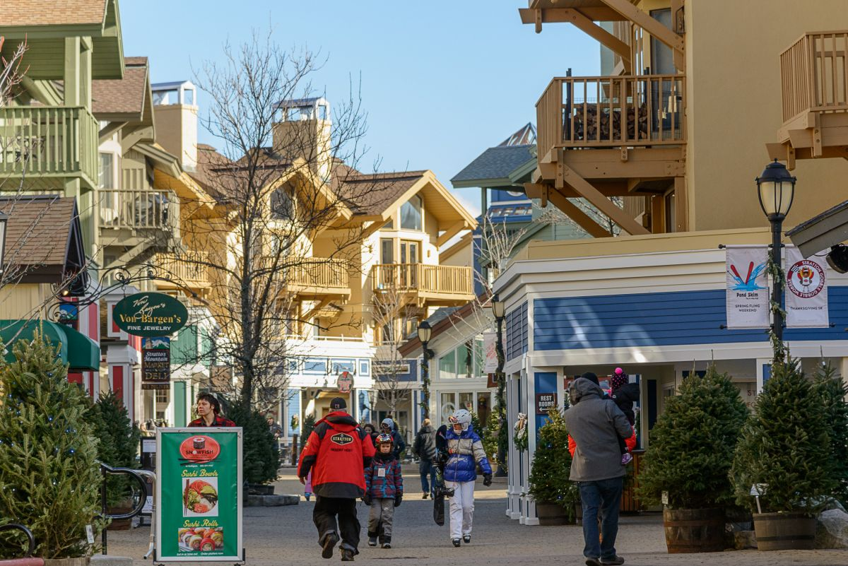 ee2c1a4aefc Shop, eat and relax at Stratton Mountain Resort's base village.