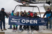 Mount Snow's Earliest Opening Ever Draws Enthusiastic Crowd