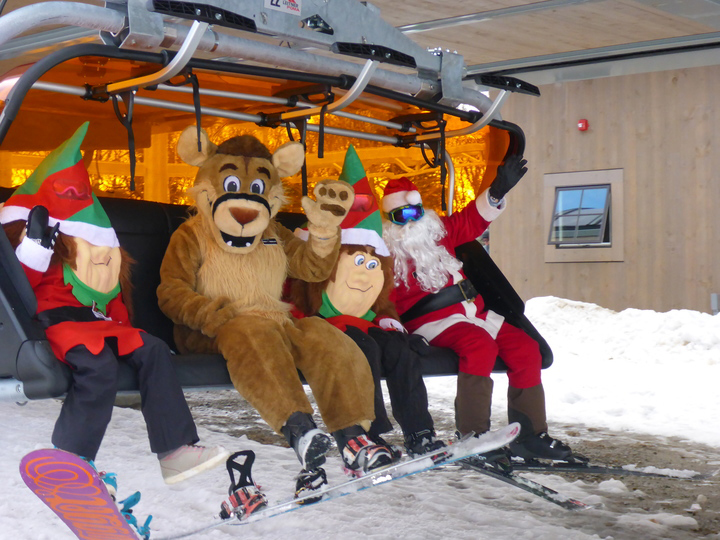 Ski and Ride with Calvin the Catamount and Friends