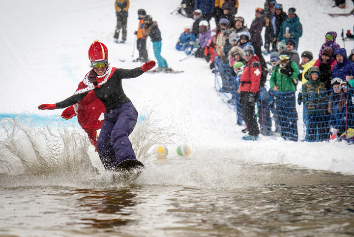 6th Annual Pond Skimming!