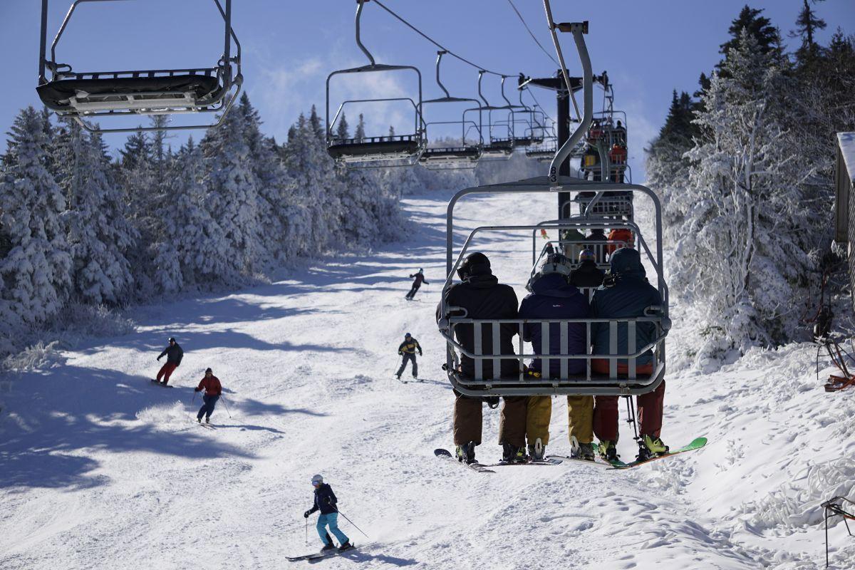 killington kicks off season with bluebird opening day — ski vermont