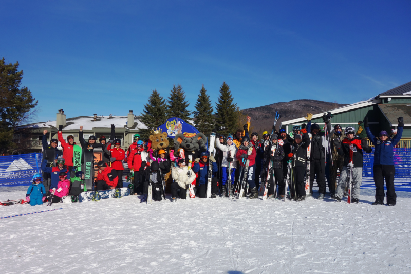 World's Largest Ski/Snowboard Lesson