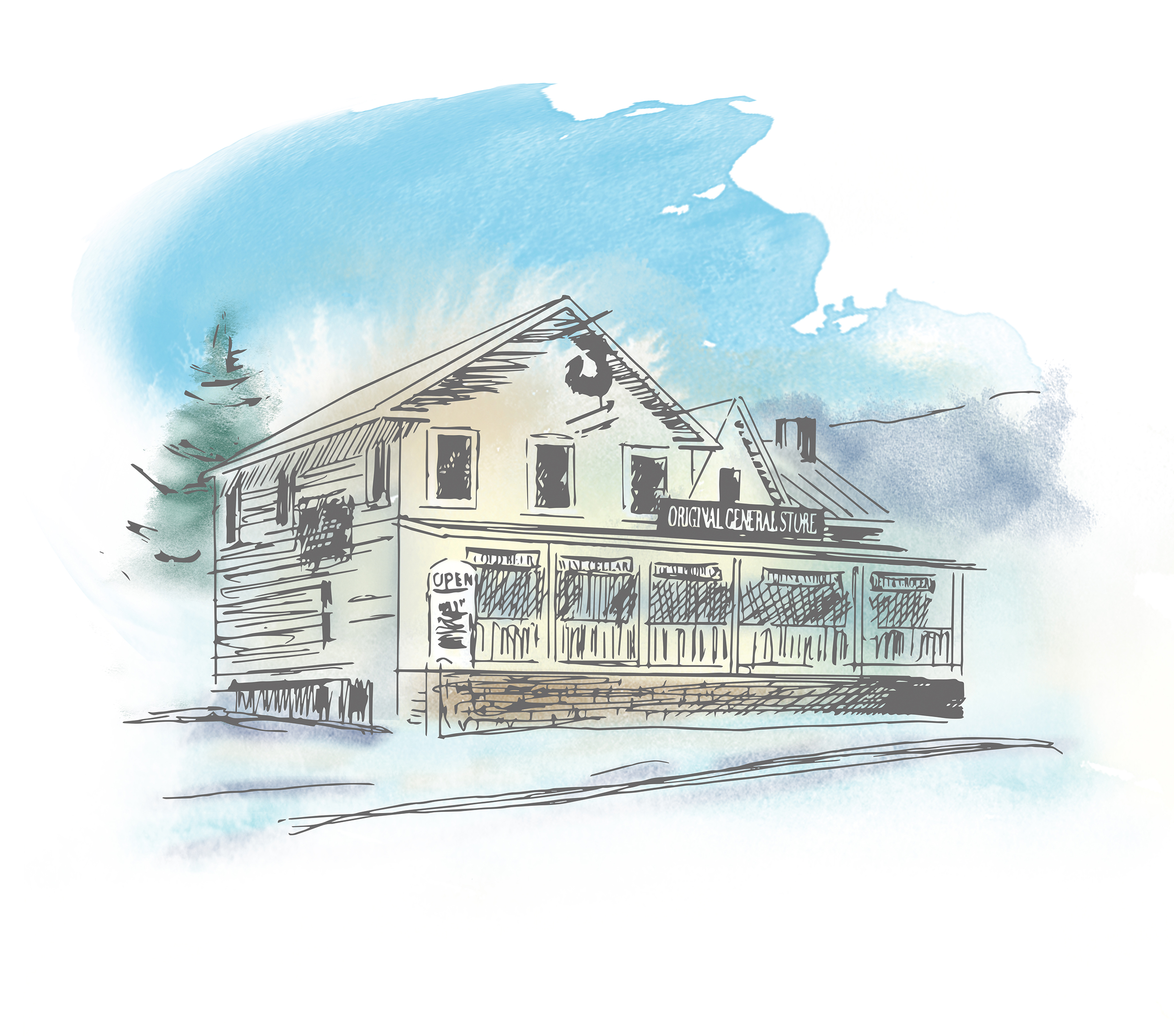 Pittsfield General Store Vermont
